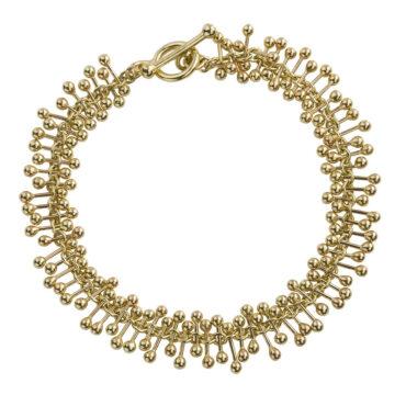 Yen, Molecule 9ct Yellow Gold Bracelet, Tomfoolery
