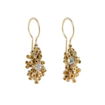 tomfoolery: Barnacle Drop Earrings by Ami Pepper