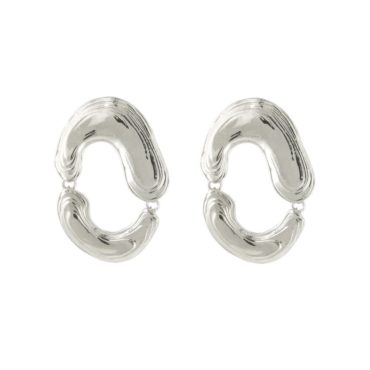 leigh miller silver earrings