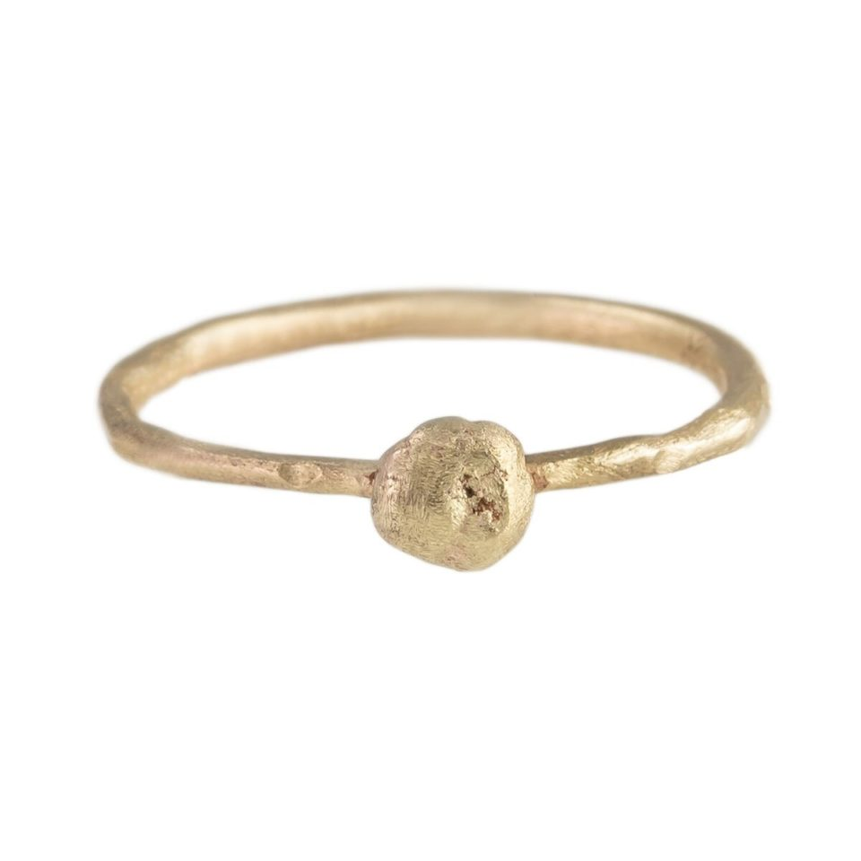 tomfoolery London: Franny E Gold Nugget Ring