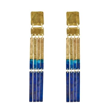 We Dream In Colour, 'Padme' Drop Earrings, Tomfoolery