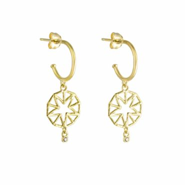 tomfoolery: Mini Hoop Diamond Earrings