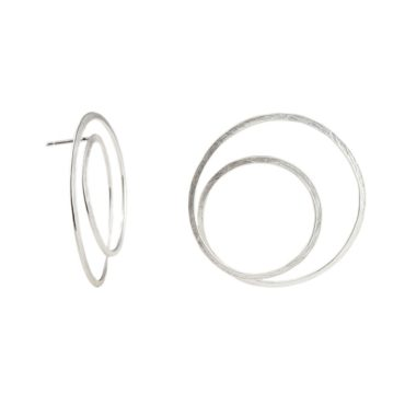 tomfoolery, Latham and Neve, Gyra Silver Hoops