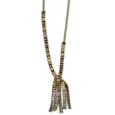 TataBorello, Powder Pink Medusa Necklace Long, Tomfoolery