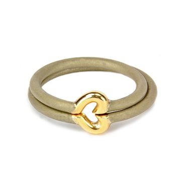 Jacek Byczewski, Steel & Gold One Heart Wedding Rings, Tomfoolery