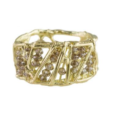 Nina Bukvic, One of a Kind 'Star' Art Ring, Tomfoolery