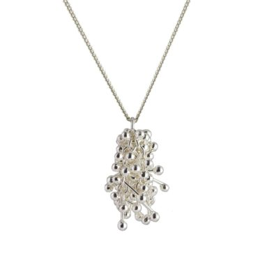 Yen, 'Innocence' Silver Cluster Necklace, Tomfoolery