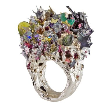 Maud Traon, One of a Kind 'Forever a Princess' Art Ring, Tomfoolery