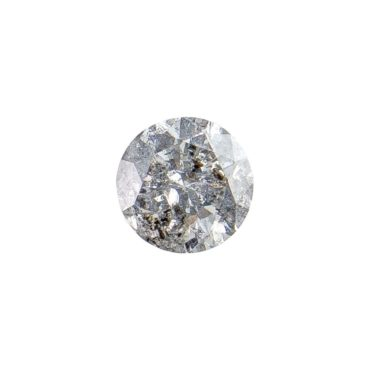 0.92ct Salt & Pepper Brilliant Cut Diamond, tf Stones