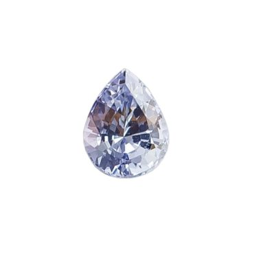 1.08ct Ethical & Natural Blue Pear Cut Sapphire, tf Stones