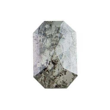 Tomfoolery, 1.06ct Salt & Pepper Rectangular Rose cut Diamond, tf Stones