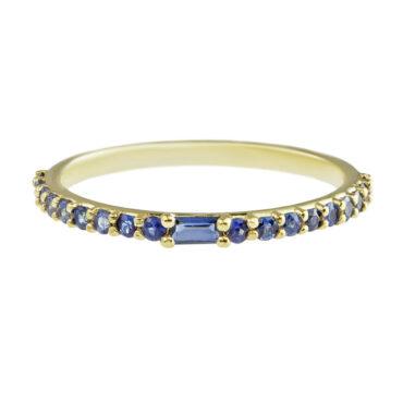 ILA sapphire blue ring