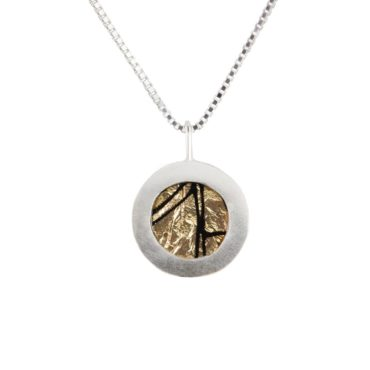 Ruth Brown, Silver Encircle Pendant Necklace, Tomfoolery