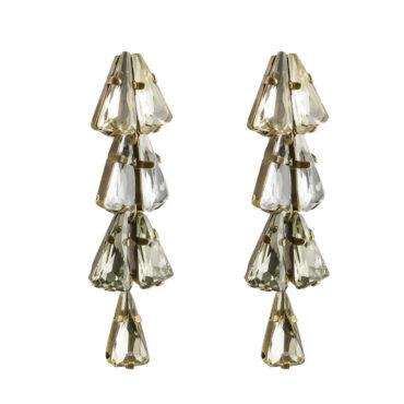 TataBorello, Powder Blue Deco Drop Stud Earrings, Tomfoolery