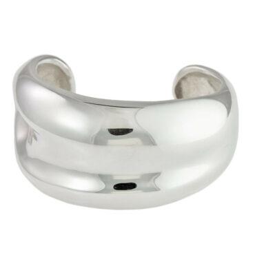 leigh miller cuff bangle silver