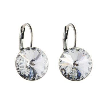 tomfoolery Round Dome Flip Hook Earring Small