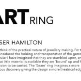 Tomfoolery, Fraser Hamilton, One of a Kind 'Snare' Art Ring