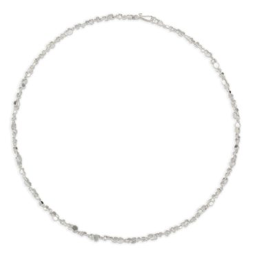 Tomfoolery, Emily Collins, Silver Circle Cluster Necklace