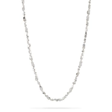 Tomfoolery, Emily Collins, Small Silver Circle Cluster Necklace