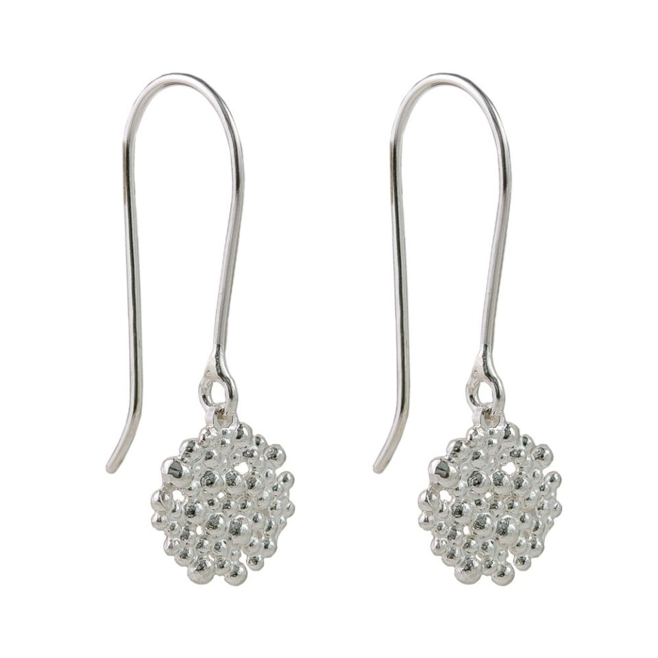 Hannah Bedford, Tomfoolery, Medium Berry Drop Earrings