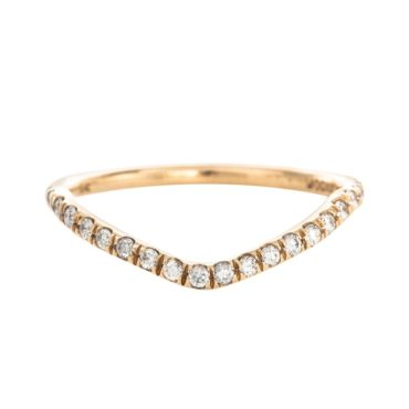 Mociun, Peak Micropavé Montana Sapphire Ring, Tomfoolery