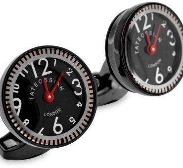 Tateossian, Racing Mechanical Watch Cufflinks, Tomfoolery