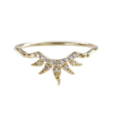 Sofia Zakia, Diamond Arabesque Ring, Tomfoolery