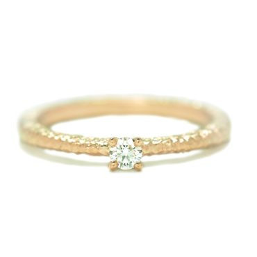Maya Selway, Una Diamond Solitaire Ring 0.25ct, Tomfoolery
