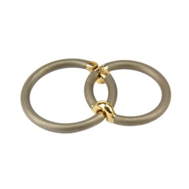 Jacek Byczewski, Stick Together Unisex Wedding Rings  , Tomfoolery