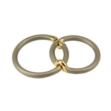 Jacek Byczewski, Stick Together Unisex Wedding Rings  , Tomfoolery