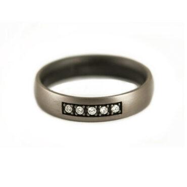 Tateossian, Diamond & Titanium Ring, Tomfoolery