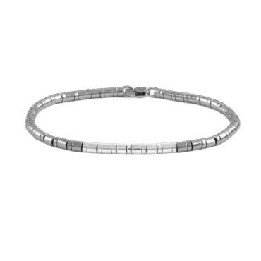 Tateossian, Pure Bamboo Silver Bracelet, Tomfoolery