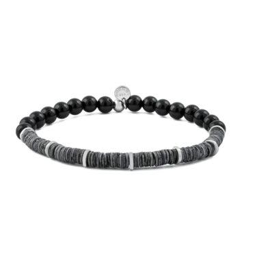 Tateossian, 'Abyss' Shell & Onyx Bracelet, Tomfoolery