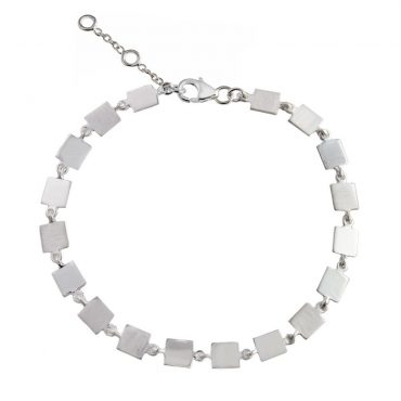 tomfoolery: Linear Square Link Bracelet, everyday by tomfoolery