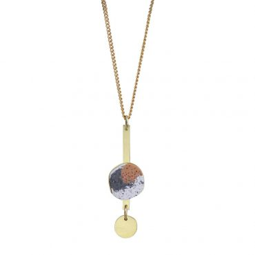 Victoria Myatt, Cica Necklace in Rust, Tomfoolery