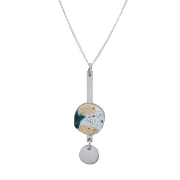 Victoria Myatt, Cica Necklace in White, Tomfoolery