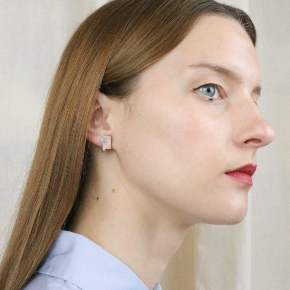 Victoria Myatt, Coris Earrings in Black, Tomfoolery