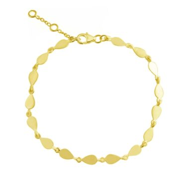 tomfoolery: Linear Pear Link Bracelet, everyday by tomfoolery