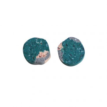 Victoria Myatt, Pica Earrings in Teal, Tomfoolery