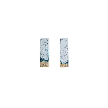 Victoria Myatt, Tine Earrings in White, Tomfoolery