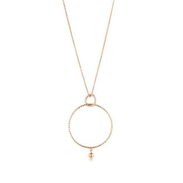 tomfoolery: texture double circle pendant necklace by ania haie