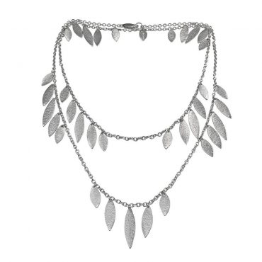 tomfoolery: icarus silver large drops necklace by cara tonkin