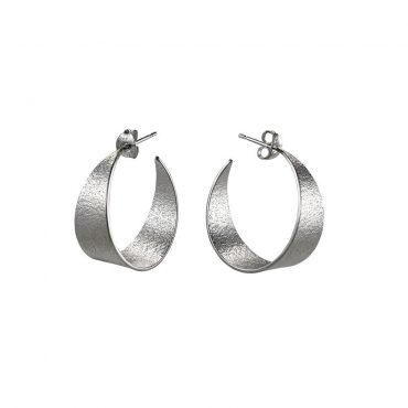 tomfoolery: icarus medium hoop earrings by cara tonkin