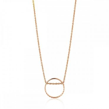 tomfoolery: Twist Chain Circle Necklace by ania haie
