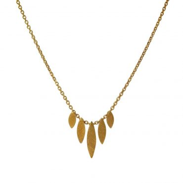 tomfoolery: icarus graduated necklace by cara tonkin