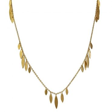 tomfoolery: Icarus Gold Plated Drops Bracelet/Necklace by Cara Tonkin