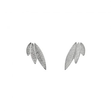 tomfoolery: icarus silver studs by cara tonkin