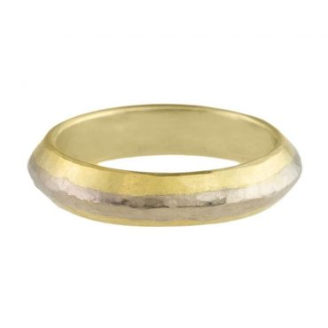 tomfoolery: 18ct gold curve ring by catherine mannheim