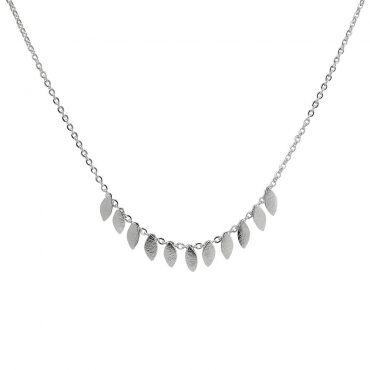 tomfoolery: icarus silver short necklace by cara tonkin