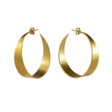 tomfoolery: icarus large hoop earrings by cara tonkin